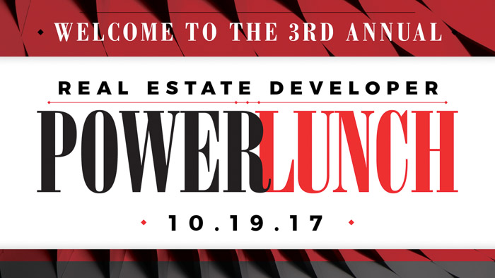 Real Estate Power Lunch 2017